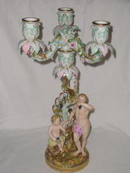 Porcelain Group of Figures - 1860