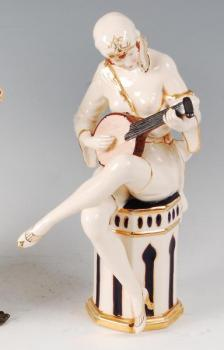 Porcelain Girl Figurine - Royal Dux - 1923