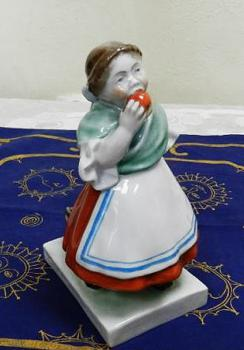 Porcelain Figurine - white porcelain - Herend Hungary (founded in 1826) - 1900