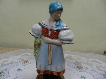 Porcelain Figurine - white porcelain - 1930
